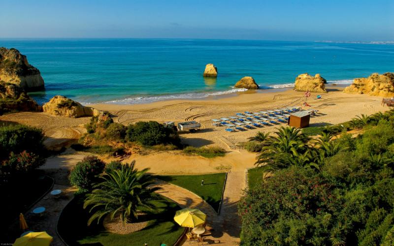 Hotel frente à praia
